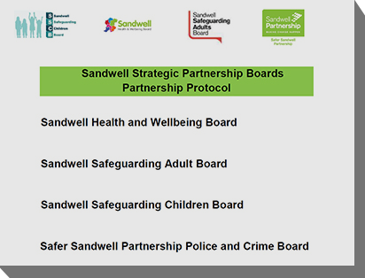 Sandwell's boards develop a partnership protocol Image