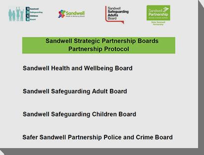 Sandwell's boards develop a partnership protocol Image