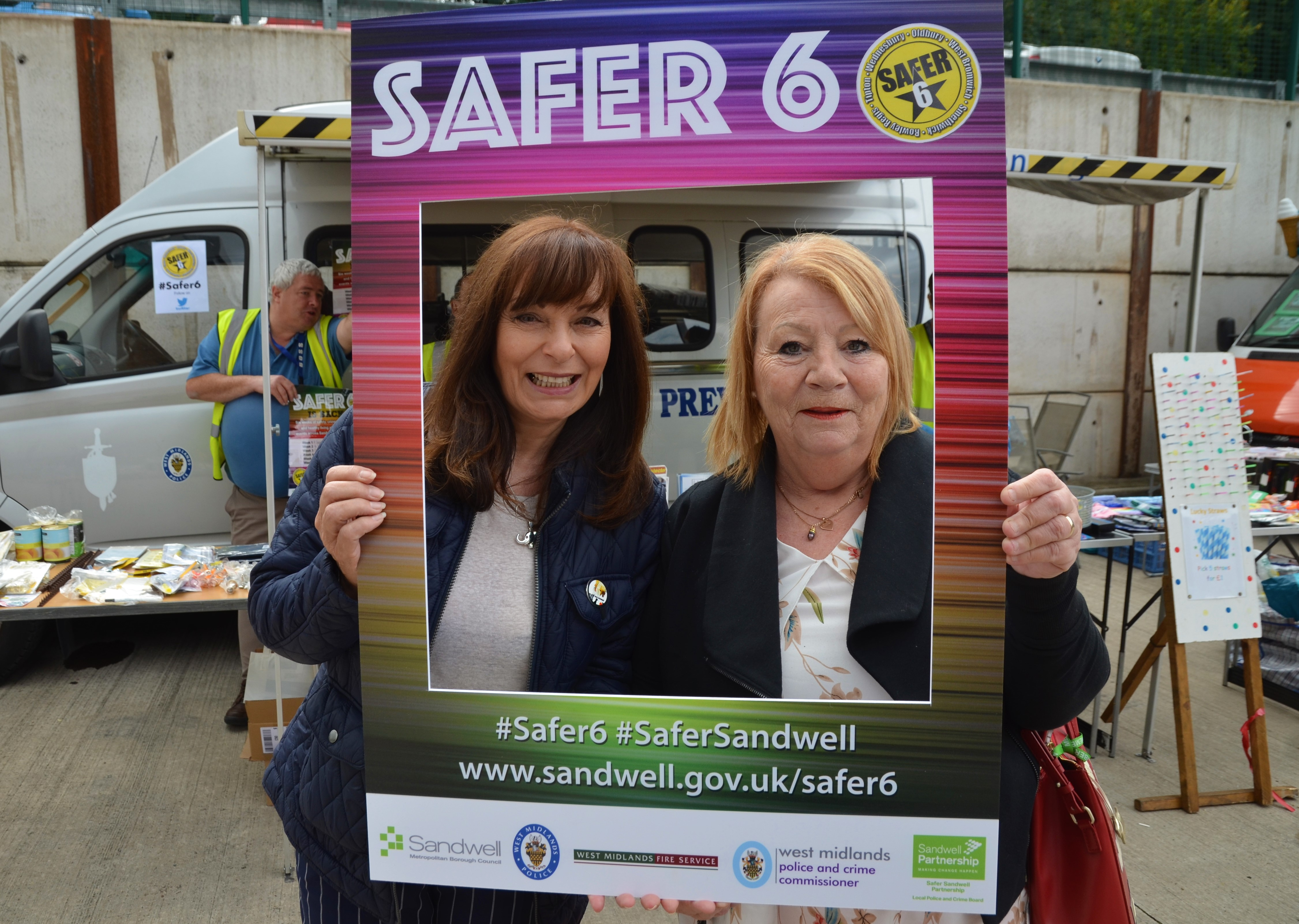 Safer 6 roadshow comes to Wednesbury Image