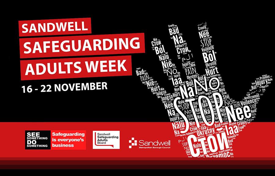 #Safeguarding Adults Week Image