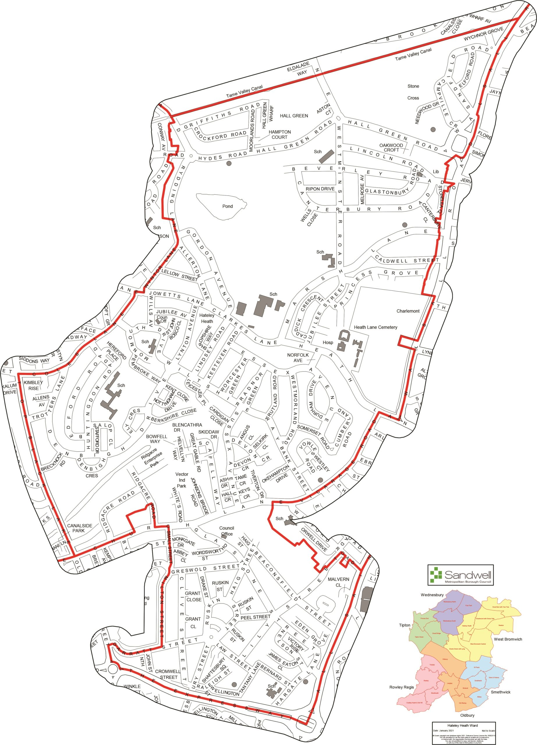 Warning as Covid-19 infection rates double local average in Hateley Heath ward Image